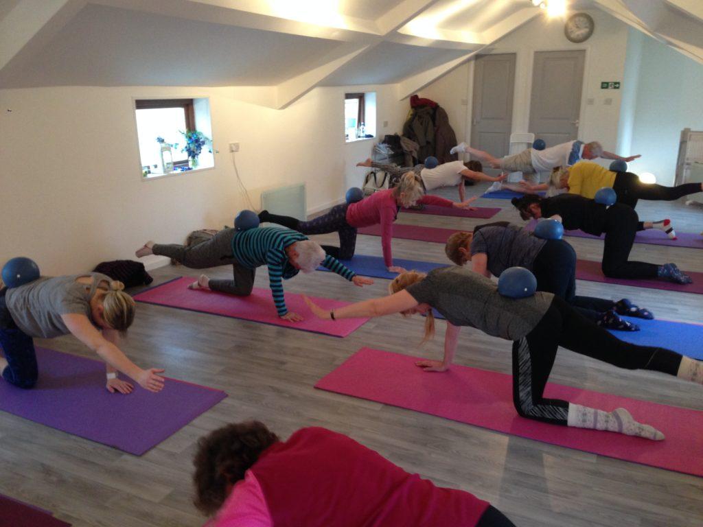Pilates Strengthening backs to ease back pain