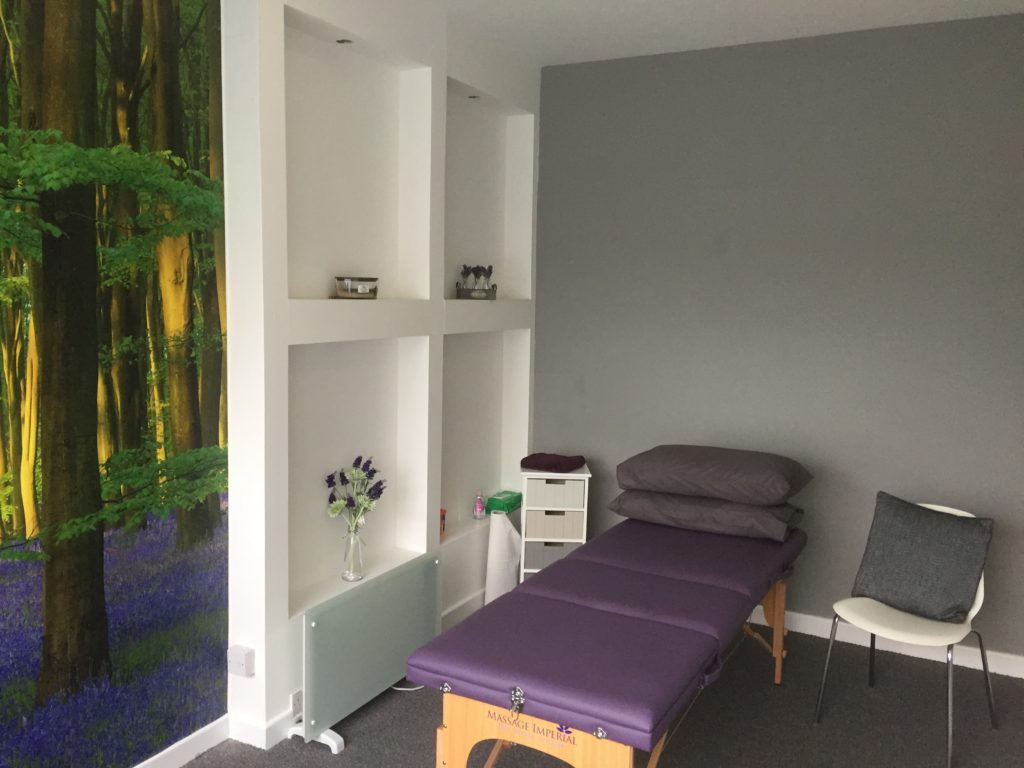 Inside the treatment room