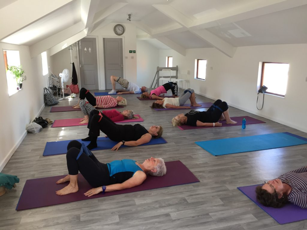 Pilates to strengthen backs and ease back pain